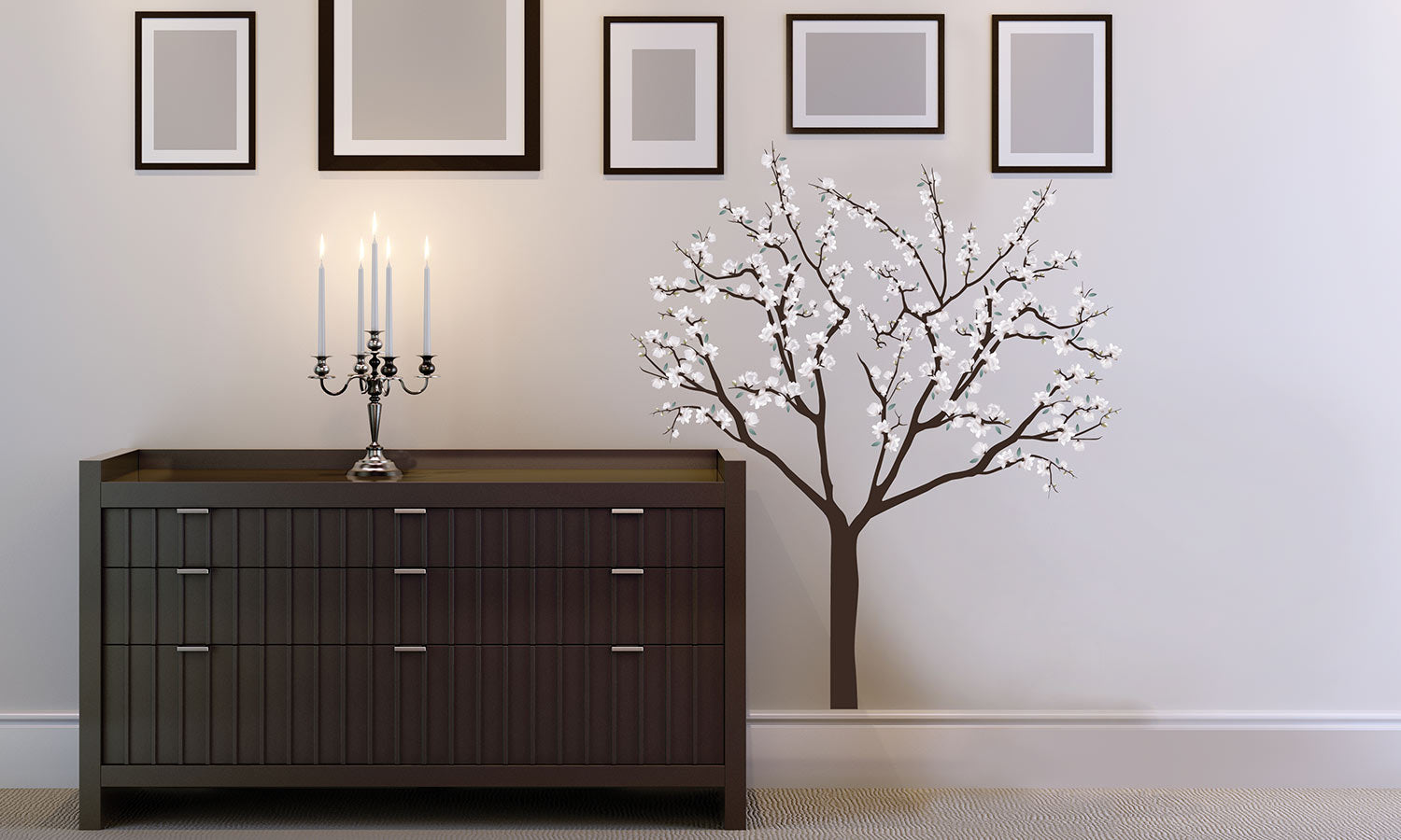 Wall stickers Tree  flowers - WS058