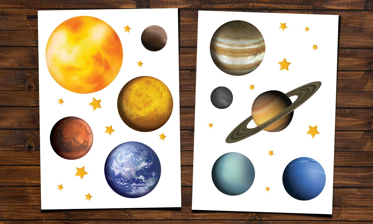 Wall stickers Planets - WS055