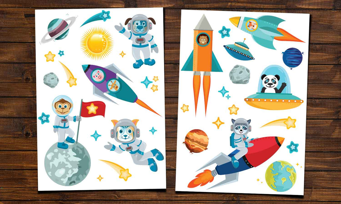 Wall stickers  Space Animals - WS095