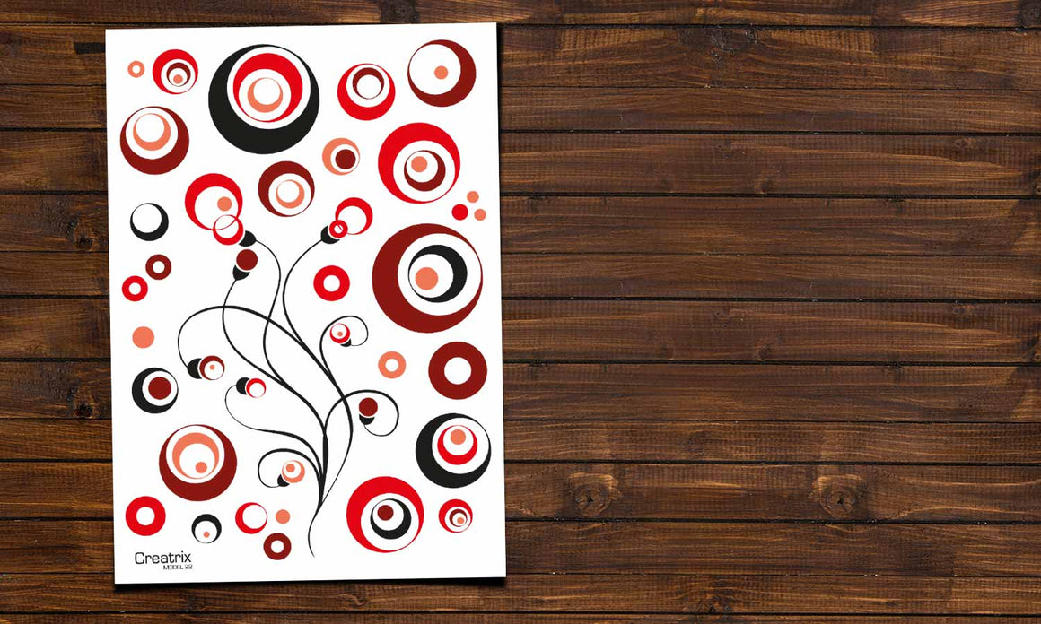 Wall stickers Circles - M22