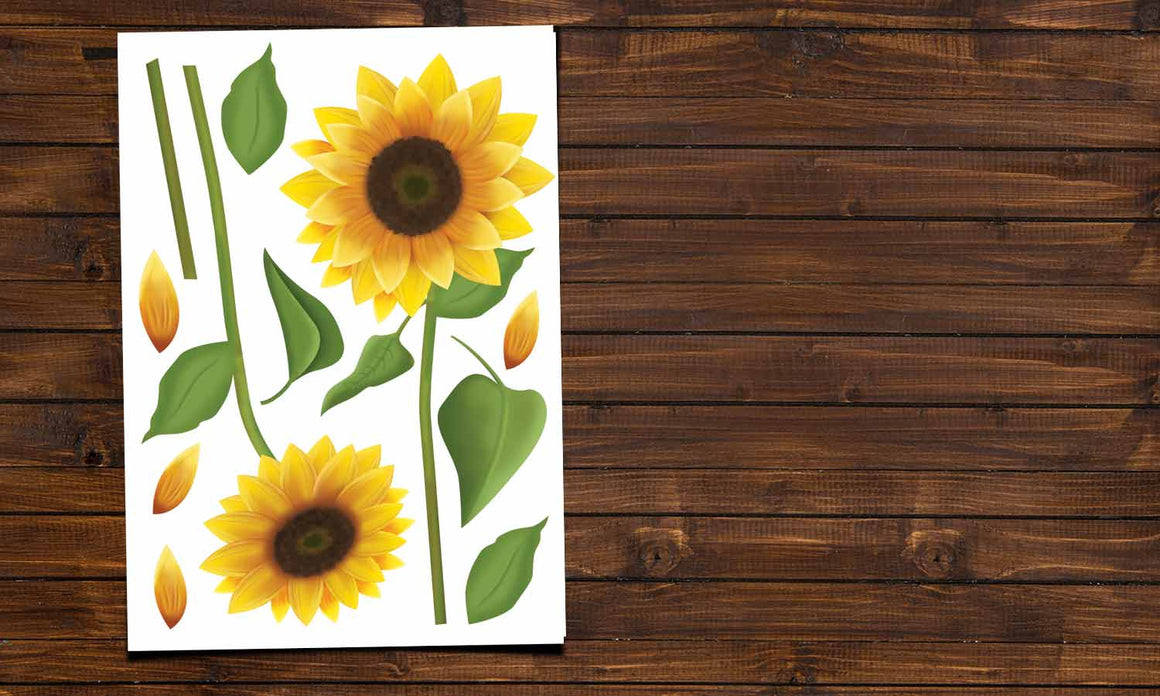 Wall stickers Sunflower - VCS106