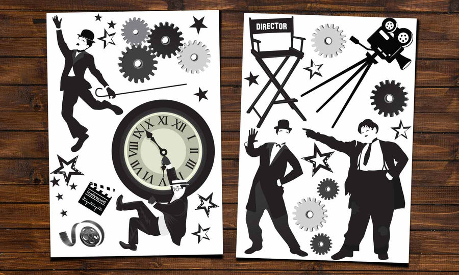 Wall stickers Silent Movies - WS065
