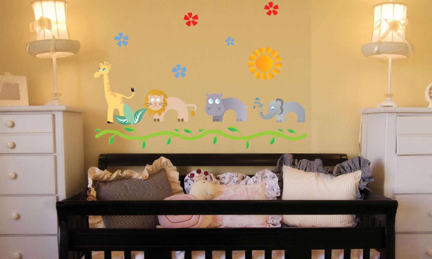 Wall stickers Jungle Kids - WS013