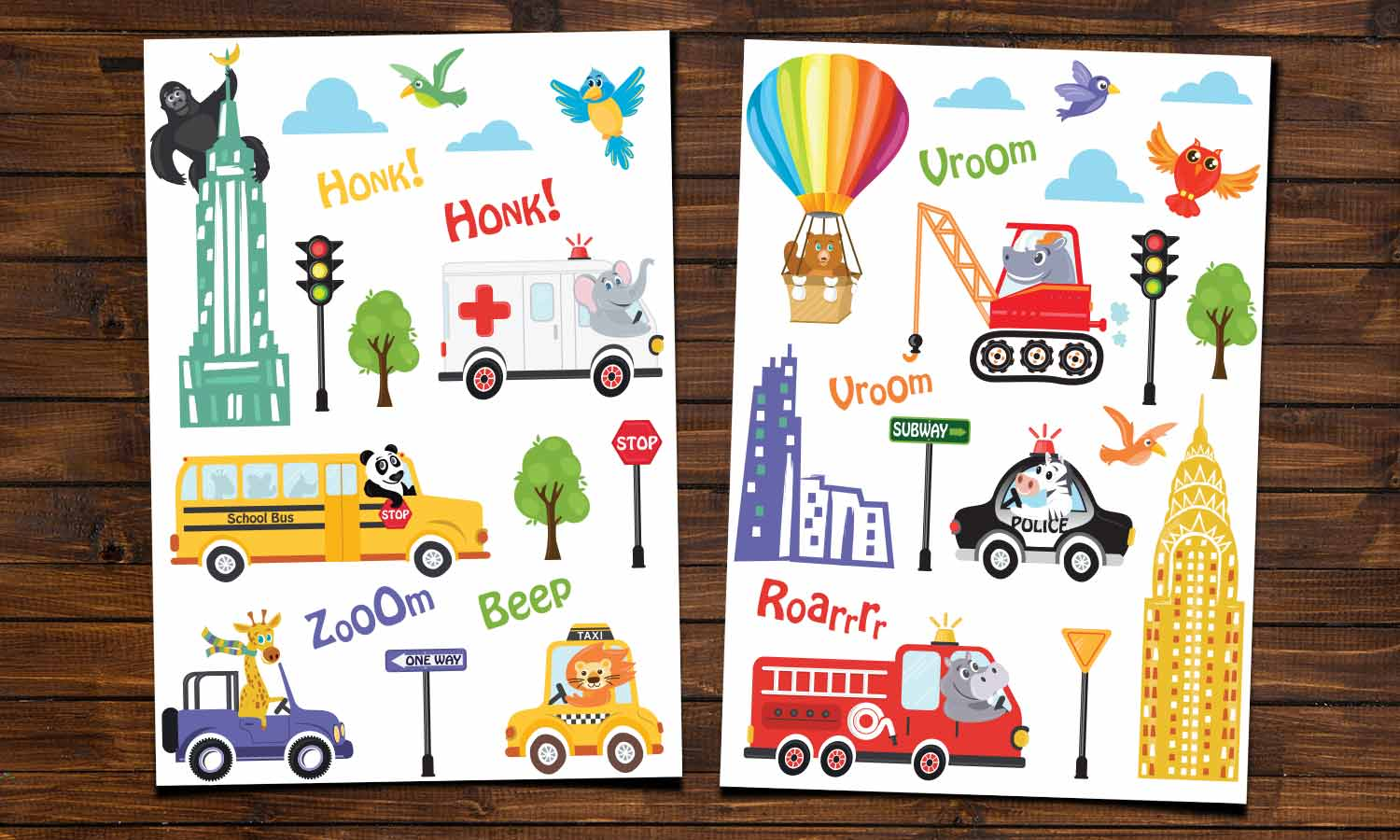 Wall stickers NY Kids Car- WS083