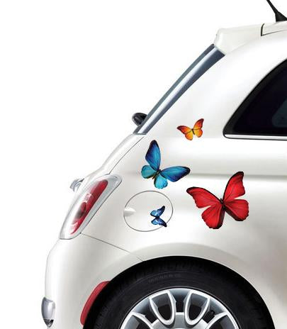 Self-adhesive stickers for a bike or a car - Butterflys