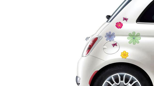 Self-adhesive stickers for a bike or a car - Flower