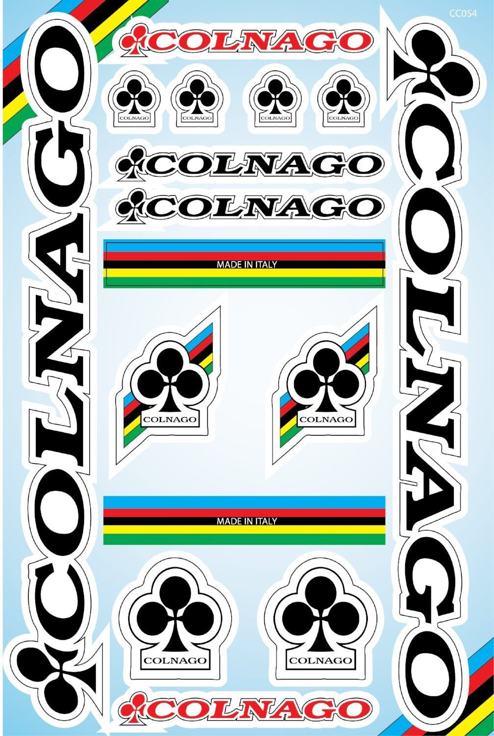 Colnago self-adhesive sticker for a bike - Art Life Decor
