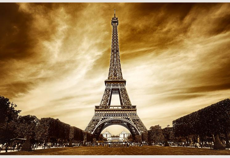 Wallpaper Eiffel tower in Paris SW130