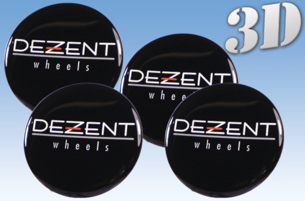 Dezent - Wheel stickers - Art Life Decor