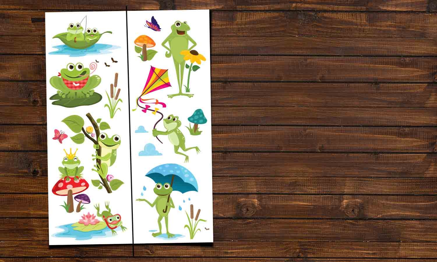 Wall stickers  Frogs - DWS009