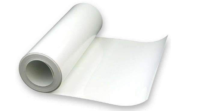 Self-adhesive foil for furniture - white foil