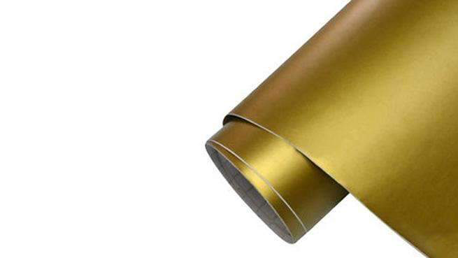 Self-adhesive foil for furniture - golden foil