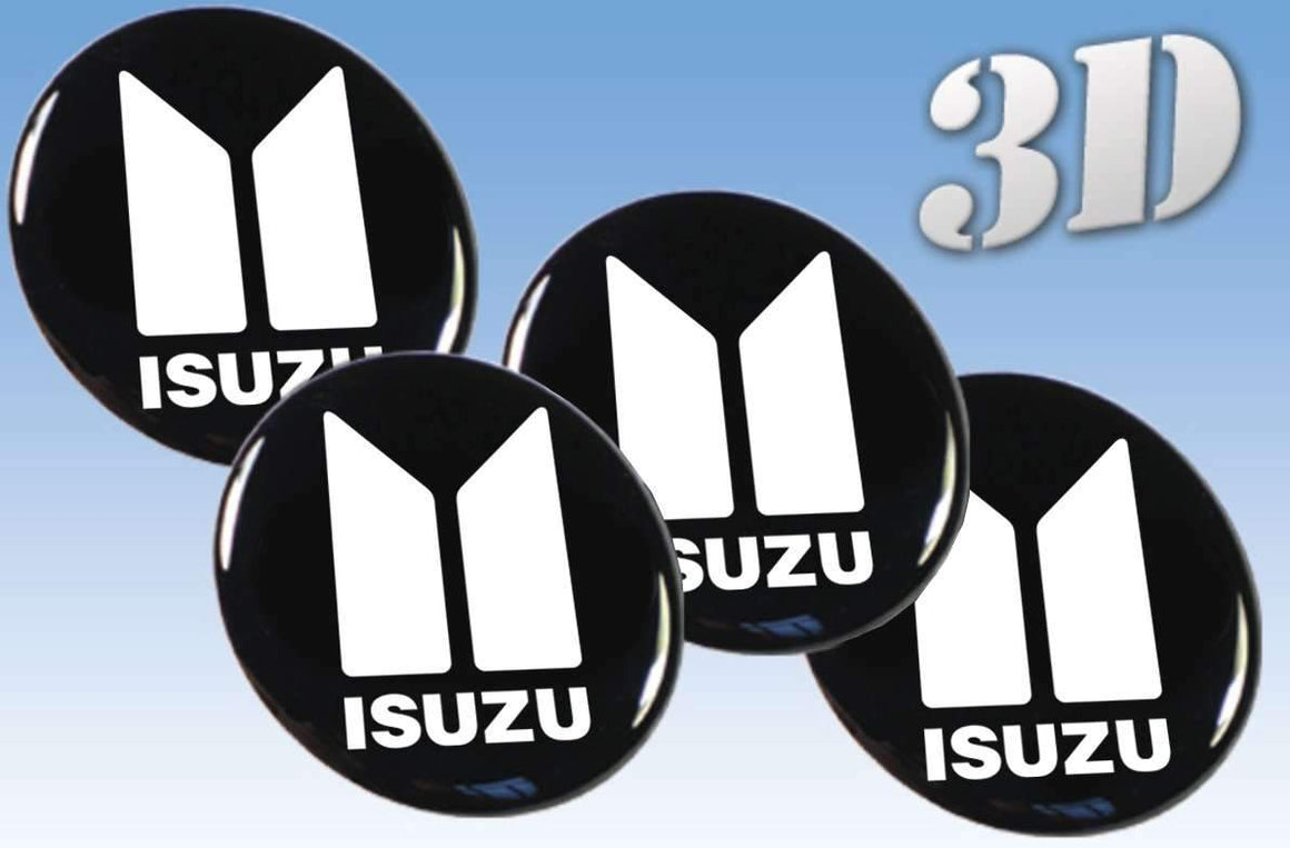 Isuzu - Wheel stickers - Art Life Decor