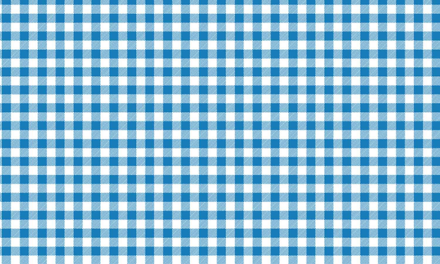 self-adhesive film for furniture -  checkered-blue PAT038