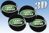 Land Rover -3D wheel stickers
