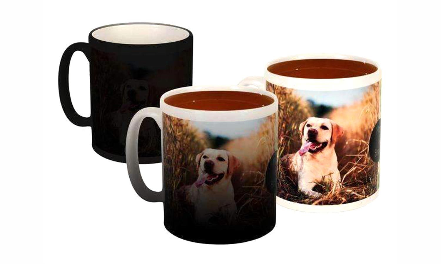 Heat-Activated Personalized Photo Coffee Mug