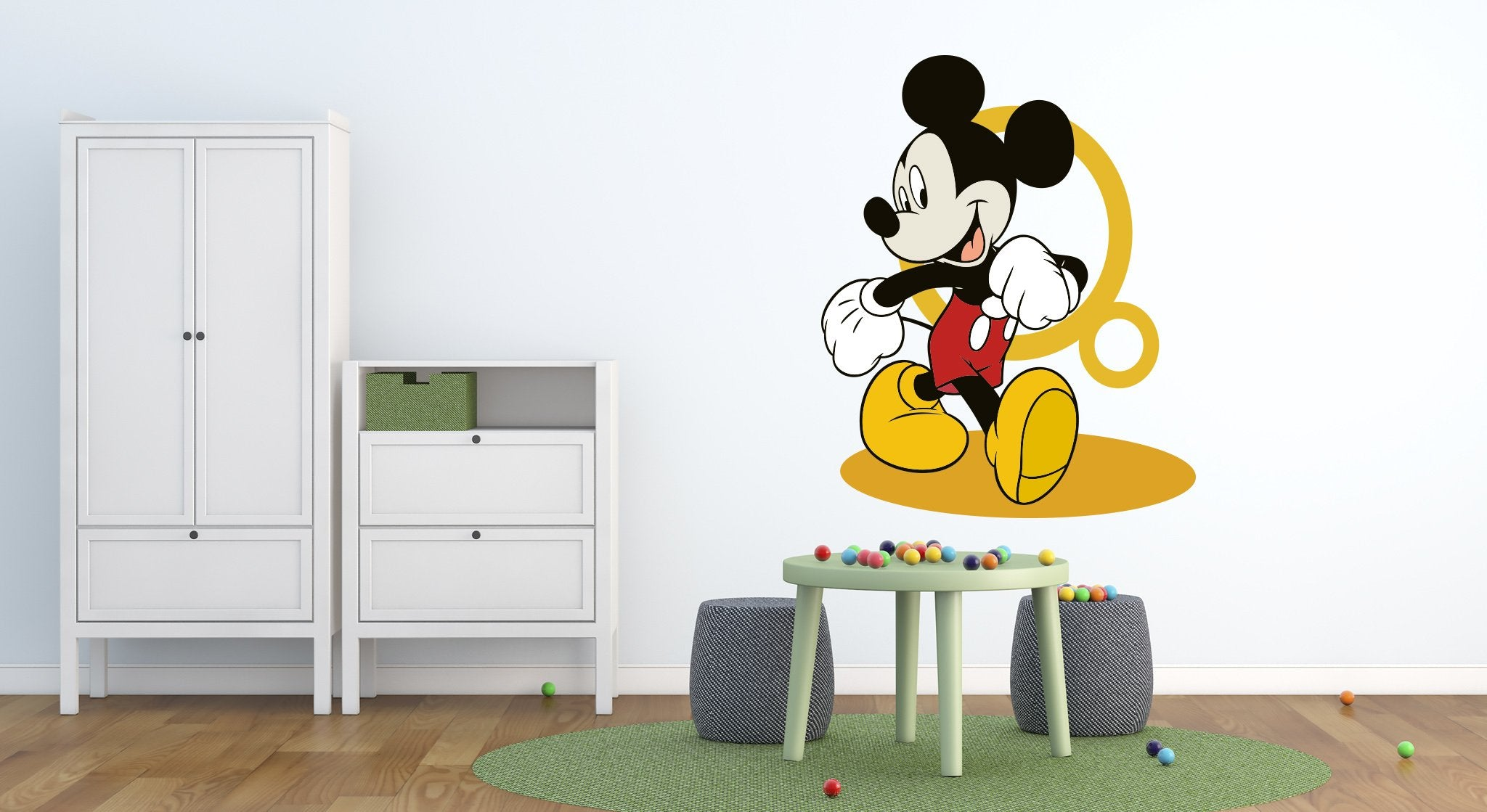 Wall stickers Kids Room Mickey Mouse - KD28