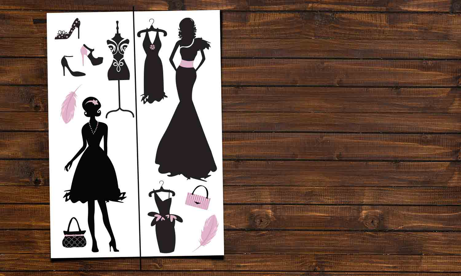 Wall stickers  Fashion - DWS005