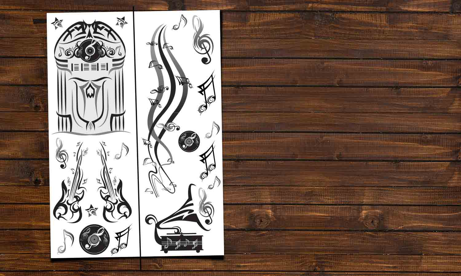 Wall stickers Music room - DWS004
