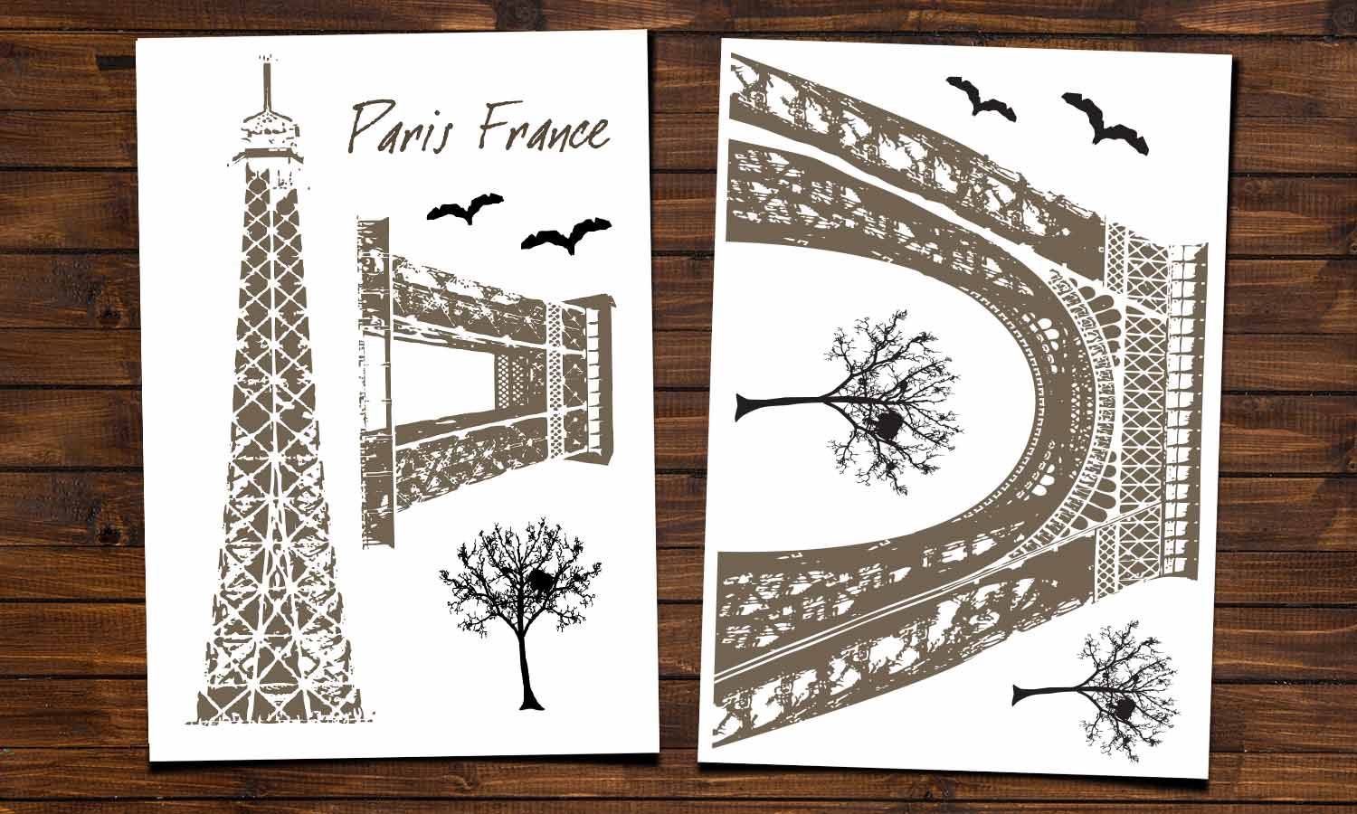 Wall stickers  Eiffel tower - WS006