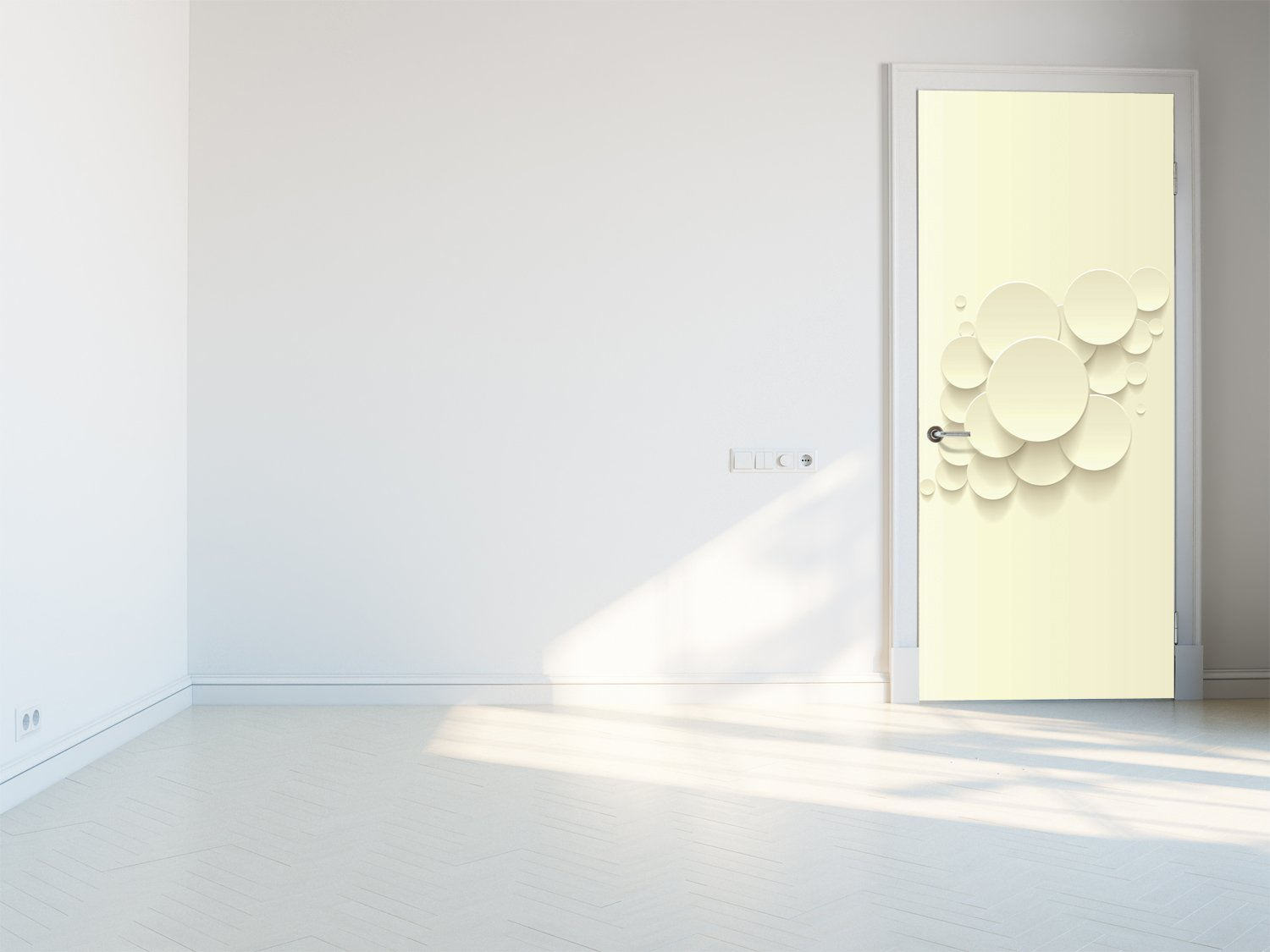 Door stickers Circle 3d - TA085 - Art Life Decor