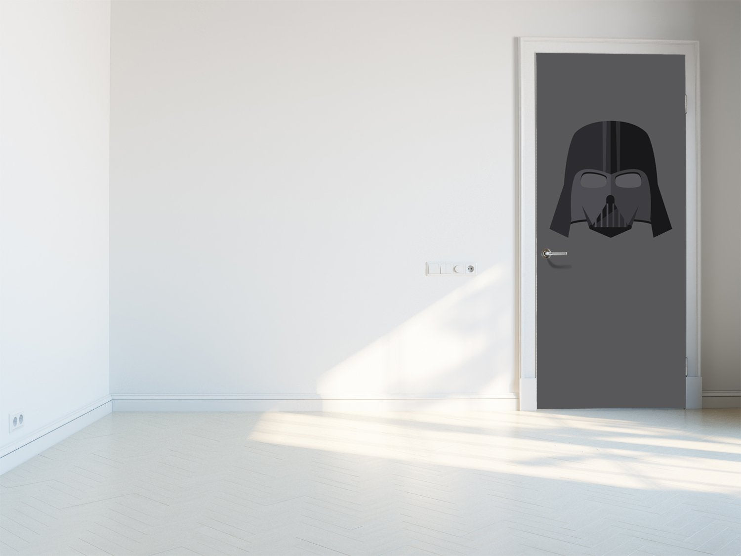 Door stickers Darth Vader - TA071 - Art Life Decor