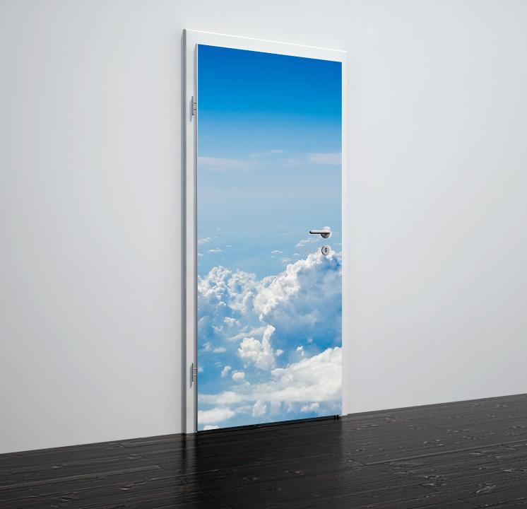 Door stickers Cloud  - TA004 - Art Life Decor