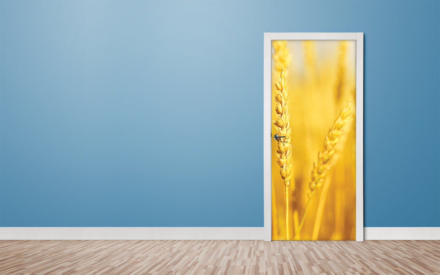 Door stickers Wheat - TA055 - Art Life Decor