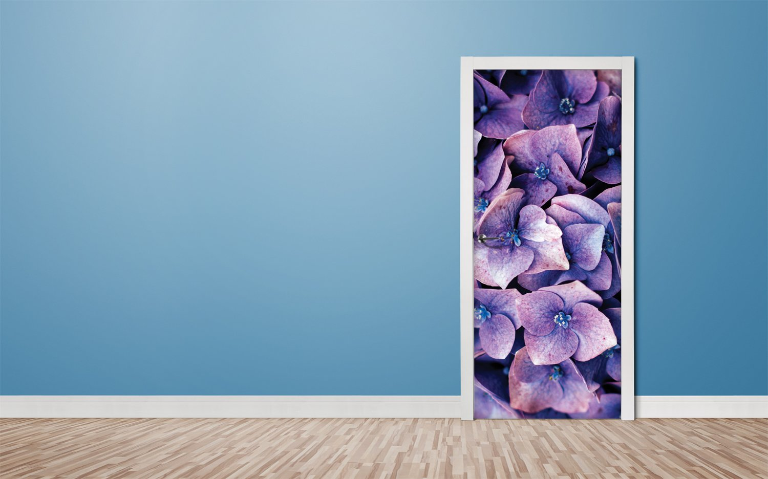 Door stickers Indigo Dry- TA053 - Art Life Decor