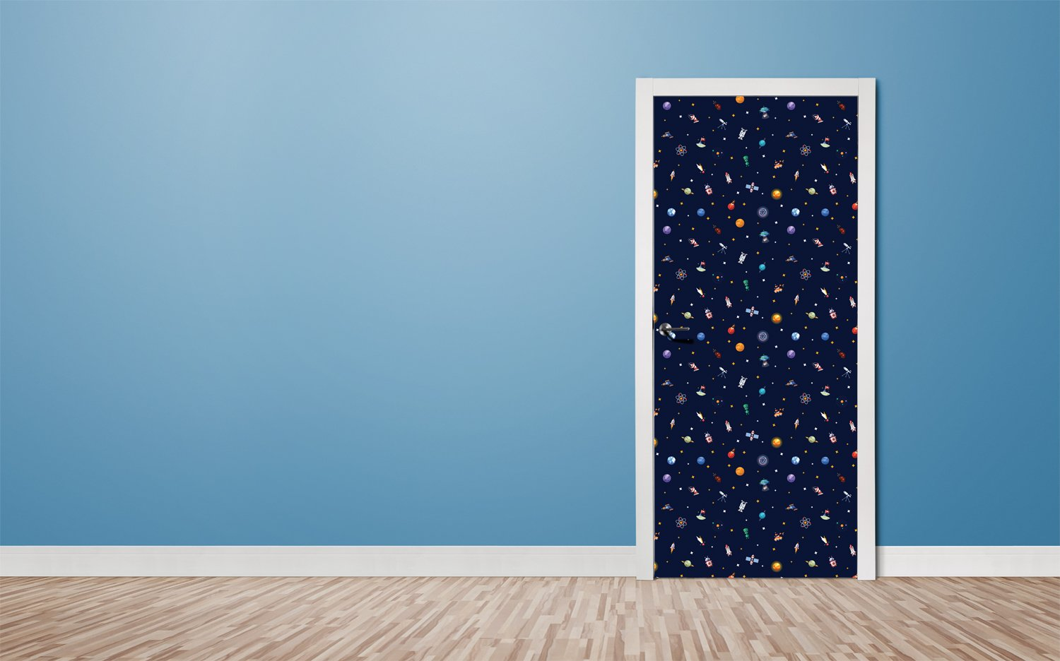 Door stickers Outer space - TA074 - Art Life Decor