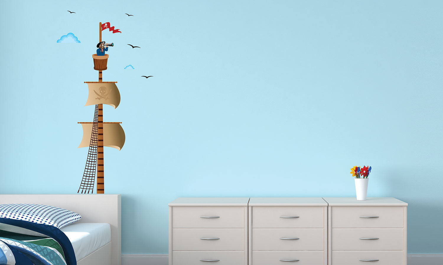Wall stickers Pirates  - DWS002