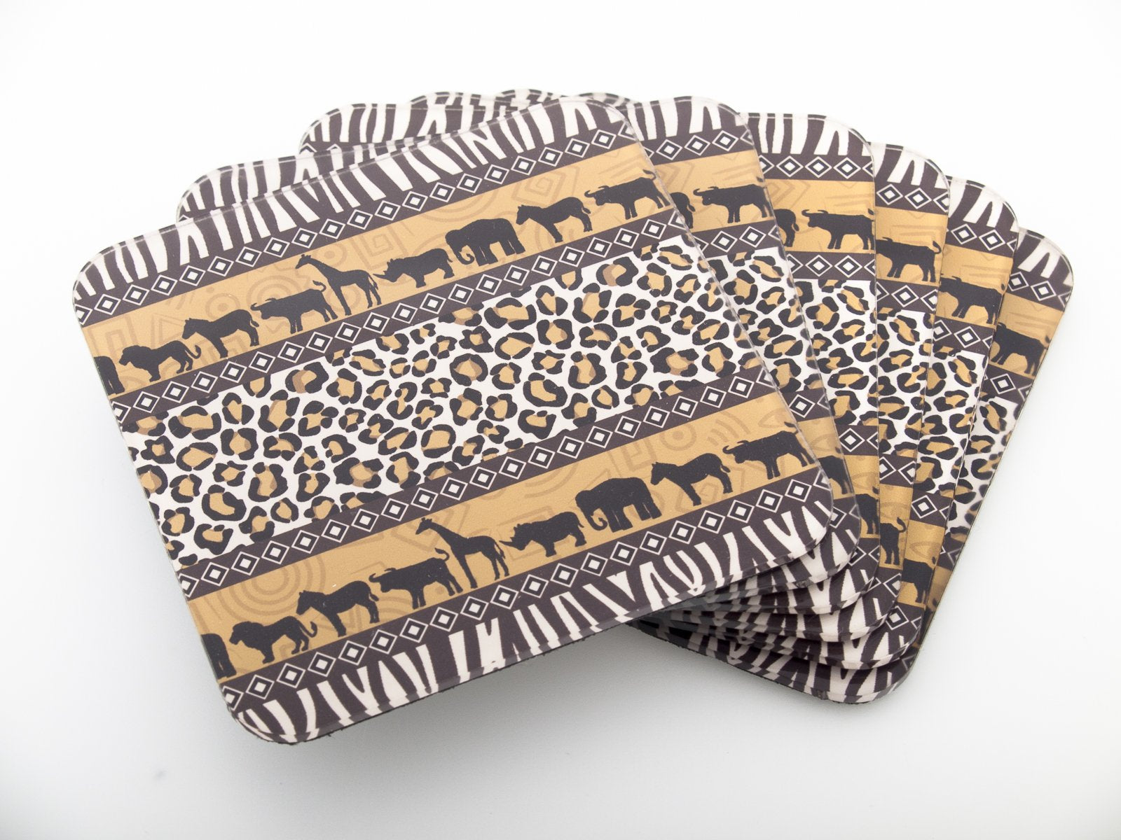 Coasters-  African Style  CO033 - Art Life Decor