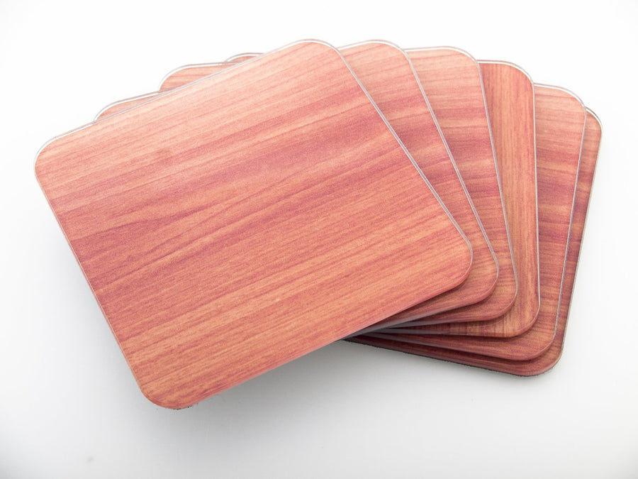 Coasters-  Wood set  CO017 - Art Life Decor
