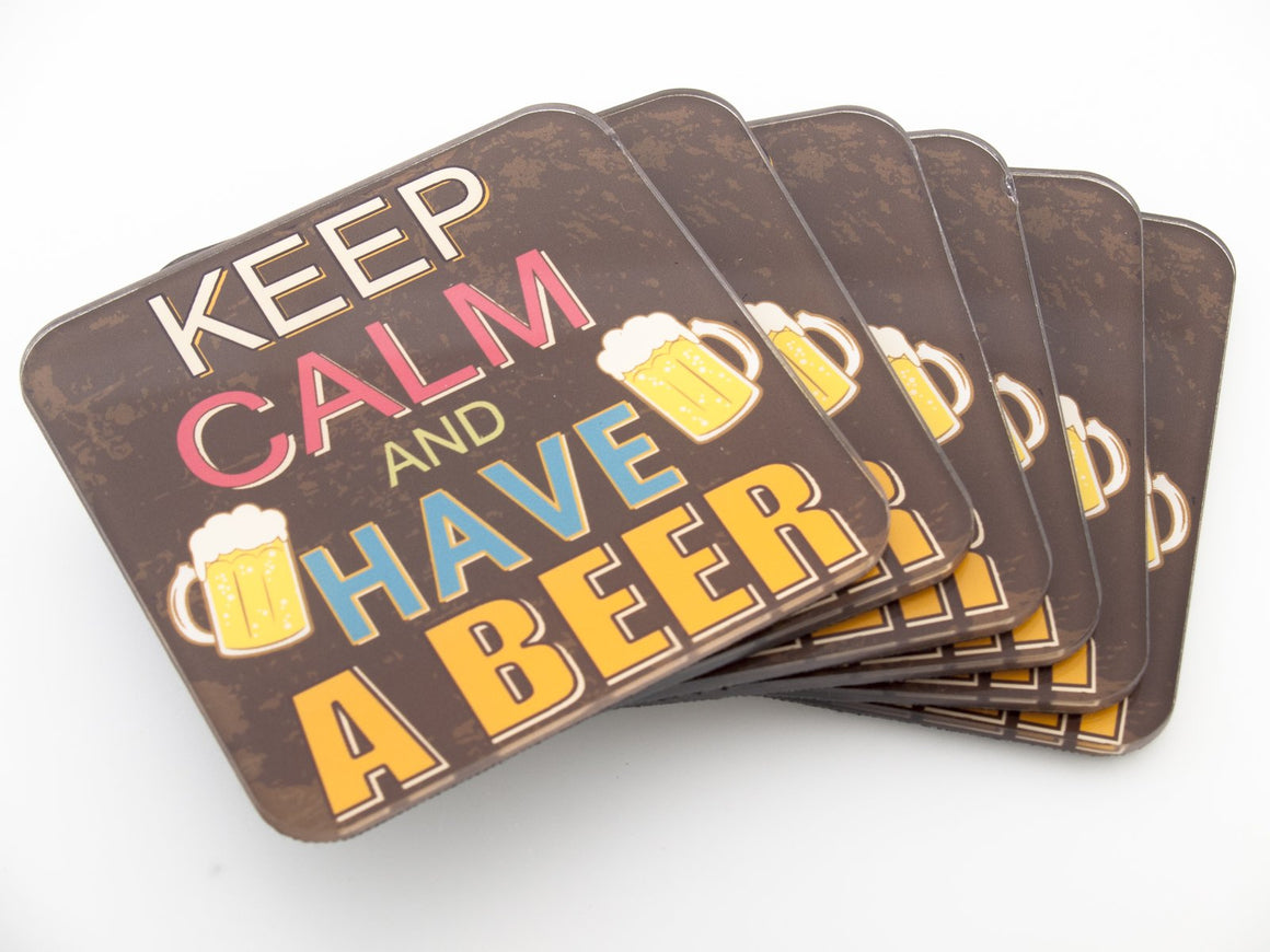 Coasters- Keep Calm CO005 - Art Life Decor