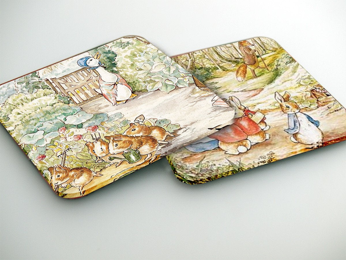 Coasters- Beatrix Potter CO001 - Art Life Decor