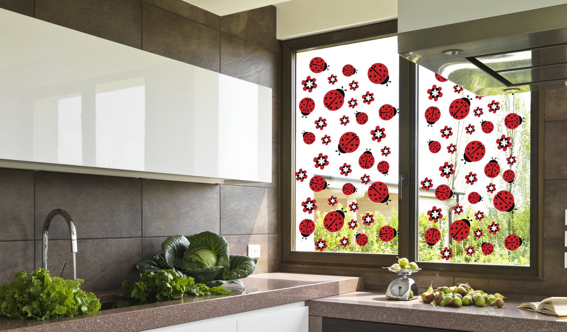 Lady bug - Windows decoration WL037