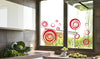 Circles - Windows decoration WL043 - Art Life Decor