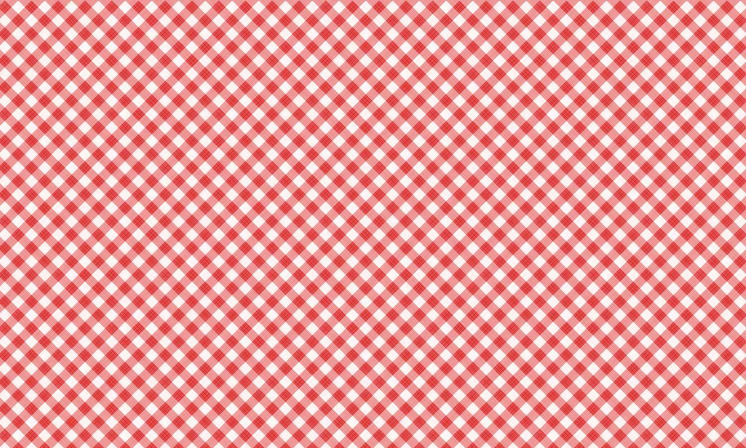 self-adhesive film for furniture - checkered-Rot  PAT092