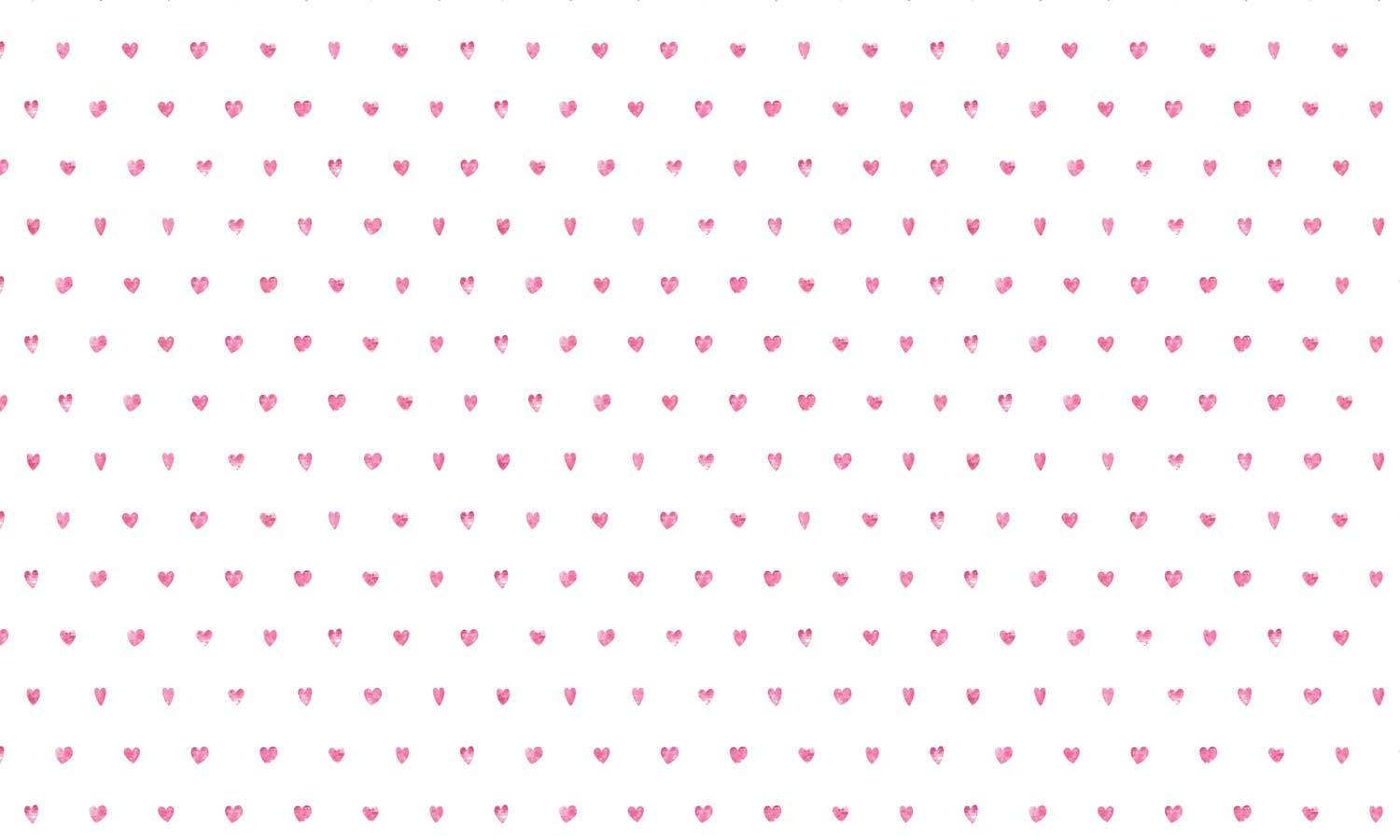self-adhesive film for furniture - small heart  PAT048