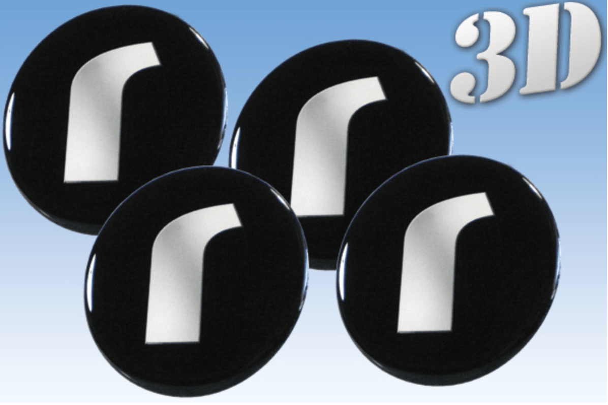 Rondell -3D wheel stickers