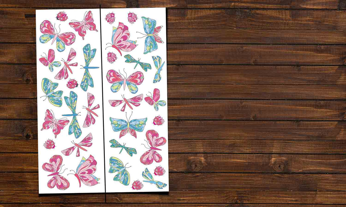 Wall stickers Color Butterfly - DWS007