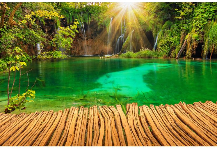 Wallpaper Plitvica lakes SW373