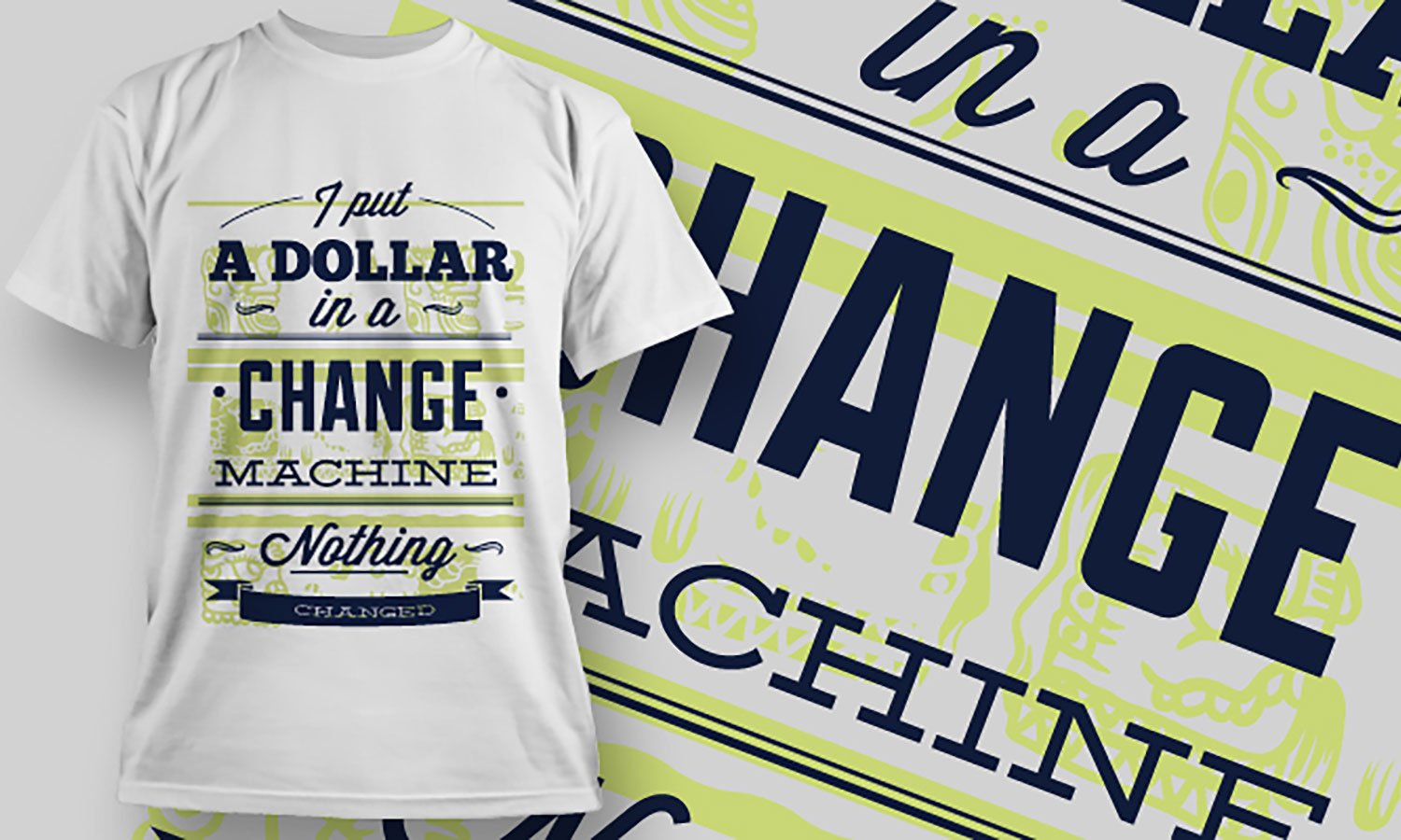 Dollar - Printed T-Shirt for Men, Women and Kids - TS376