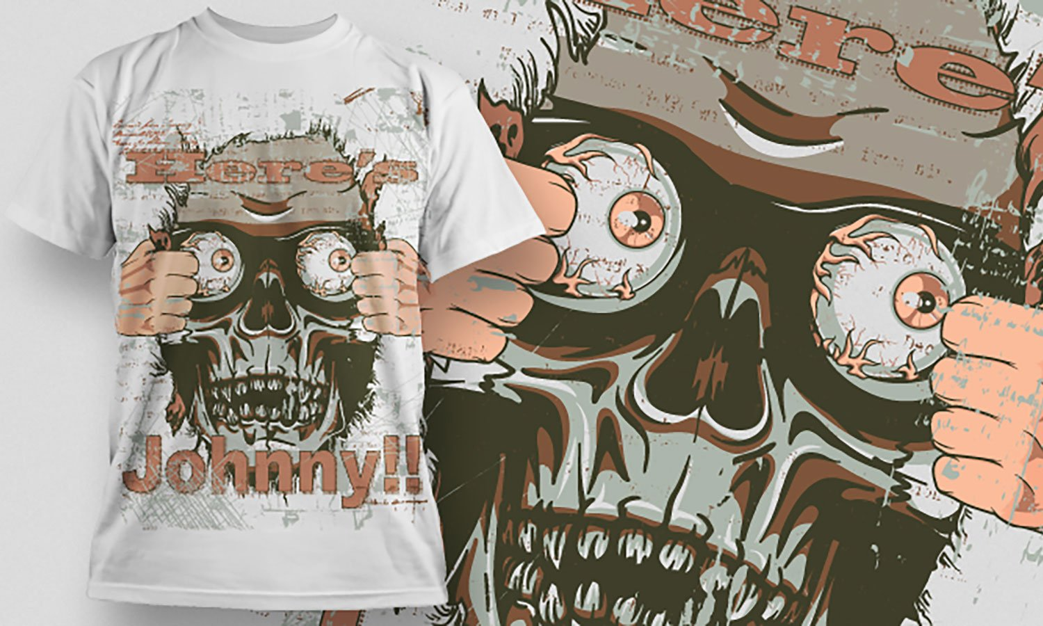 Johnny - Printed T-Shirt for Men, Women and Kids - TS289