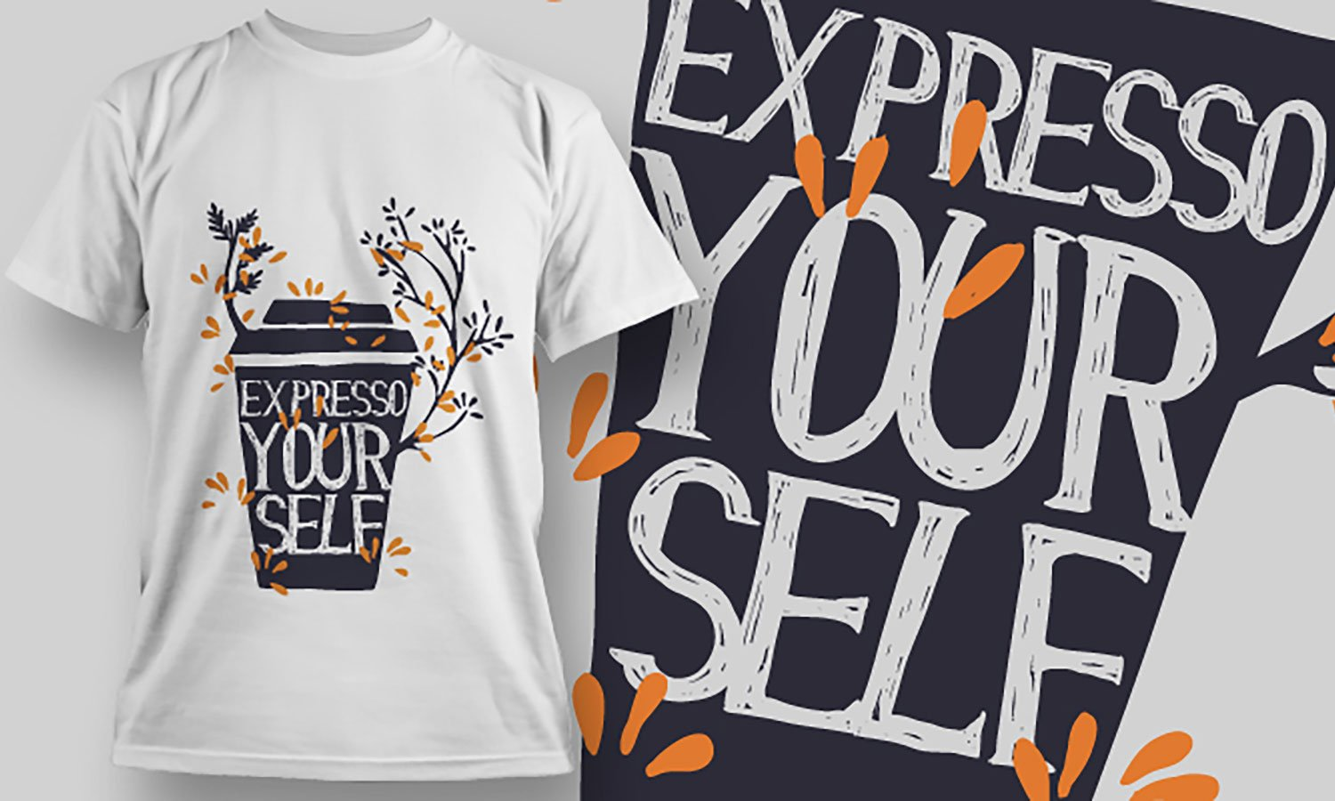 Expresso - Printed T-Shirt for Men, Women and Kids - TS269