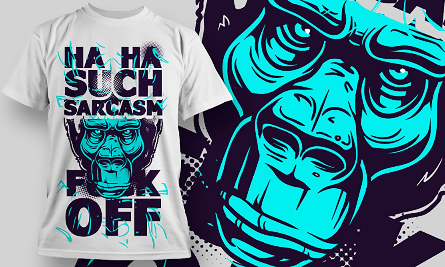 Sarcasm - Printed T-Shirt for Men, Women and Kids - TS095
