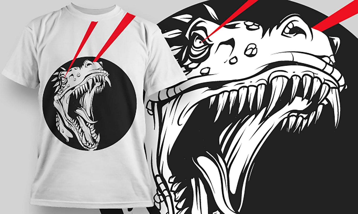 Dragon - Printed T-Shirt for Men, Women and Kids - TS258