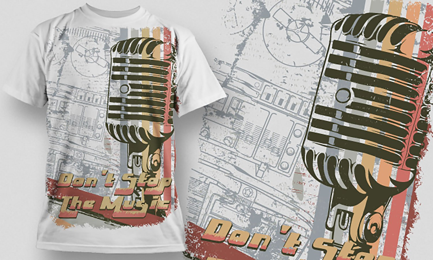 Music - Printed T-Shirt for Men, Women and Kids - TS290