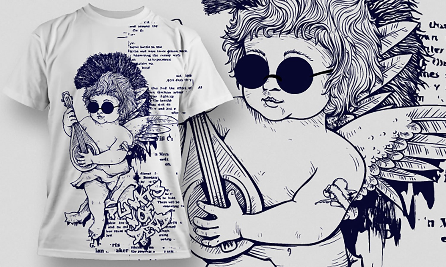 Music - Printed T-Shirt for Men, Women and Kids - TS316