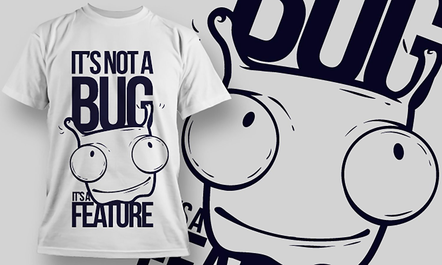 Bug - Printed T-Shirt for Men, Women and Kids - TS098